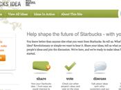 Utiliser communauté pour améliorer marque produits Starbucks