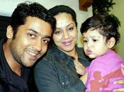 Surya avec fille Diya