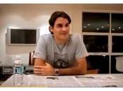 Roger Federer maîtrise raquette