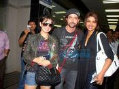 Hrithik, Priyanka, Kangna, Bipasha return from IIFA 2009