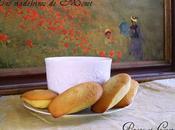 madeleines zestes citron Claude Monet