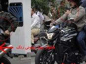 Téhéran c'est chaud motard armé façon
