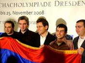 Trophée d'échecs Armavia France Arménie Live 14h30