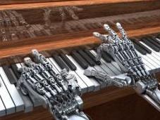 robot affichant émotions humaines