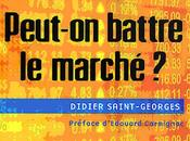 Didier Saint-Georges, Peut-on battre marché Alain Sueur