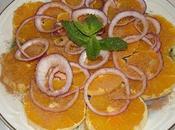 Salade d'orange l'oriental