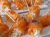 Roulés saumon céleri raifort
