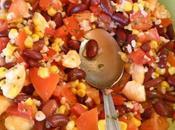 salade estivale haricots rouges
