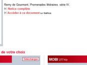 Rimbaud, Musset Baudelaire premiers ebooks Gallica