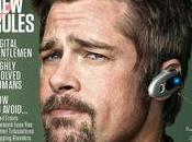 geek digital gentleman... Brad Pitt couverture WIRED MAGAZINE