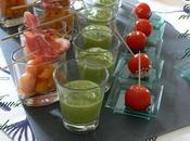 verrines melon balsamique