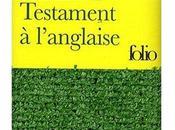 Testament l'anglaise...