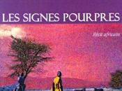 signes pourpres, recit africain presentation
