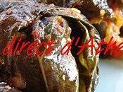MEZES Anchois farcis feuilles vigne