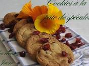 cookies pâte spéculoos crambrerry