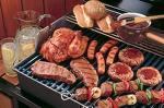ambiance autour d'un barbecue dimanche!