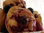 Muffins mûres framboises
