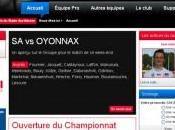 Stade Aurillacois nouvelle saison, nouveau site internet