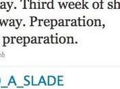 Nouveau message David Slade Twitter