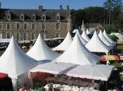 Pleumeur-Bodou. foire antiquités château Kerduel