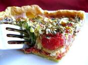 Tarte Tomates, Courgettes Camembert