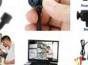 Mini mini-caméra avec objectif chez Sony