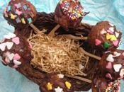 Sucettes pomme chocolat