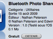 Bluetooth Photo Share partagez Photos entre iPhones