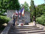 Cérémonie Monument anniversaire