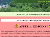Appel témoin yéti récemment aperçu près Saint-Loup Luchons.