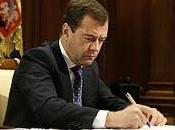 Dmitri Medvedev Russie, avant