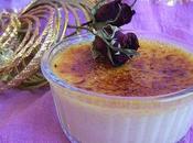 Petits pots crème brulée saveurs indiennes