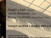 Beau concert perspective octobre prochain