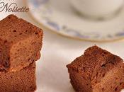 Gâteau chocolat puree noisettes (bio), sans beurre farine