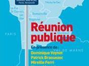 Délégation officielle socialistes fontenaysiens réunion publique Communauté d'Agglomération l'Est Parisien Montreuil lundi septembre