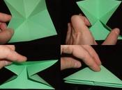 Plier grenouille vite fait (origami toujours)