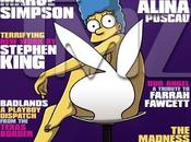 Marge simpson pose pour playboy