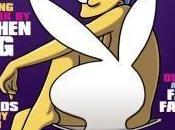 Marge enlève haut pour Playboy