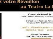 Concert Réveillon Fenice Venise
