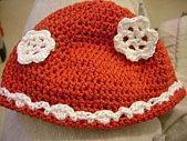Bonnet rouge coton