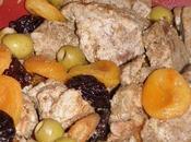 Tajine Porc Abricots, Pruneaux Olives