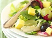 Salade raisins, comté vinaigre groseilles