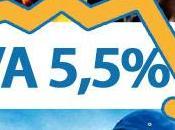 5.5% pour téléchargement légal