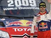 Rallye Grande Bretagne 2009 Sebastien Loeb CHAMPION MONDE