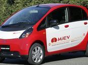 Mitsubishi i-Miev débarque Paris