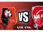 Stade Rennais Valenciennes L'avant match