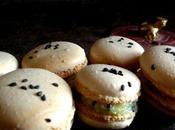 Macarons Emmental/sésame, recette.