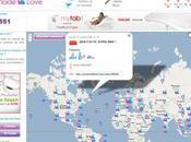 just made love carte mondiale l'activité sexuelle geeks monde entier...
