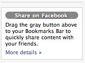link external content your facebook profile?