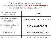 WiMax, nouveaux tarifs